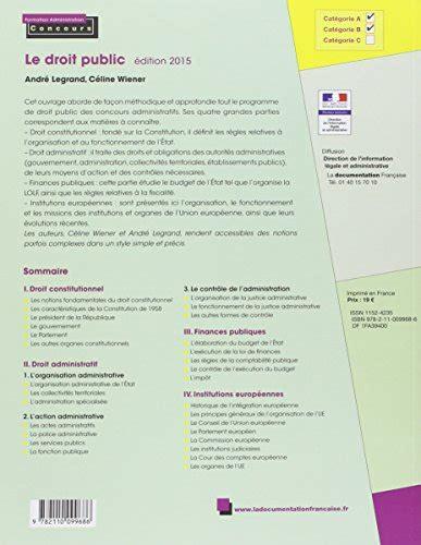 libro droit constitutionnel libro le droit public droit constitutionnel droit administratif finances publiques