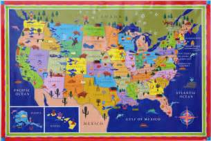 Usa Map For Kids by Us Maps With States For Kids Www Imgarcade Com Online