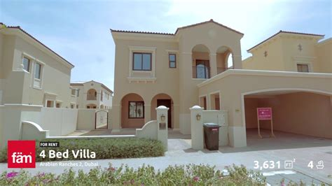 4 bedroom villa for rent in dubai 4 bedroom type 3 villa for rent at lila arabian ranches