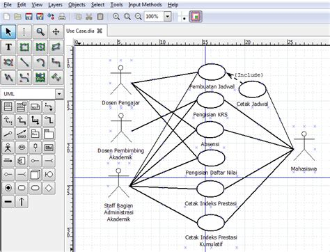 aplikasi membuat uml membuat uml dari sistem informasi akademik isma technology
