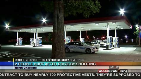 drive shoot north charlotte drive by sends 2 men to the hospital