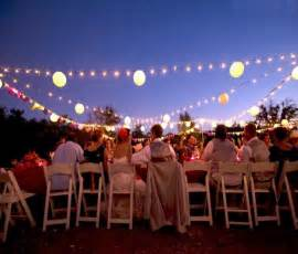 outdoor wedding lighting ideas sangmaestro