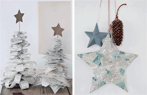 adornos navideos con reciclaje decoraci 243 n f 225 cil adornos de navidad reciclando papel