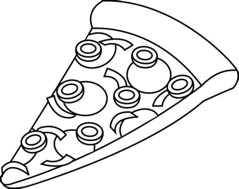 pizza drawings clipart best