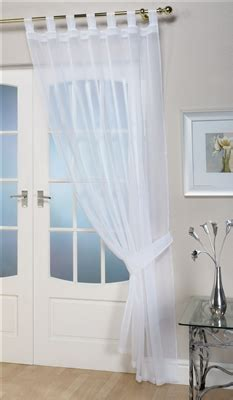 opaque white curtains voile panels opaque white tab top curtain panel