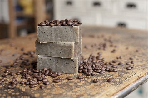 Coffee Soap how to make coffee scented soap brit co