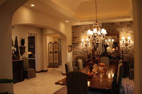 big dining room big canyon custom home mediterranean dining room los
