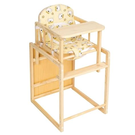 chaise de table bebe table rabattable cuisine table et chaise bebe en bois