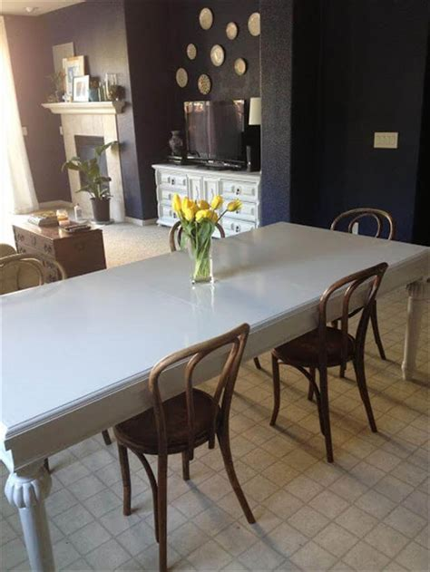 Diy Paint Dining Room Table Paint Dining Table With Based Paint Diy And Crafts