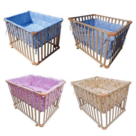 playpen bed foxhunter height adjustable baby playpen play pen cot bed
