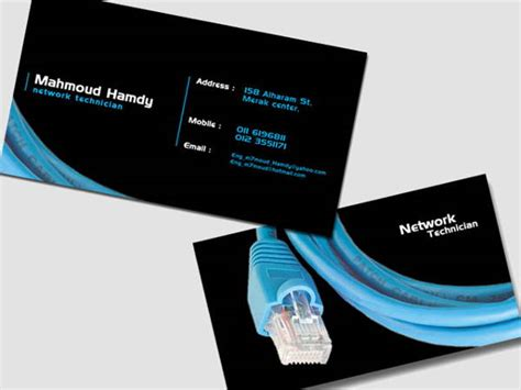 network business card templates free 9 networking business card templates free premium