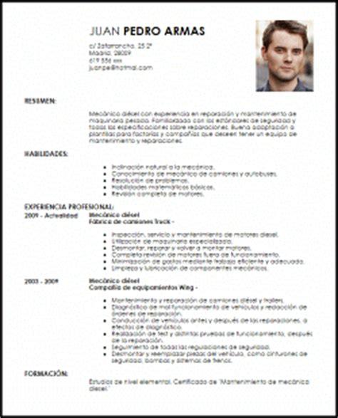 Modelo Curriculum Vitae Tecnico Mecanica Automotriz Modelo Curriculum Vitae Mec 225 Nico Di 233 Sel Livecareer