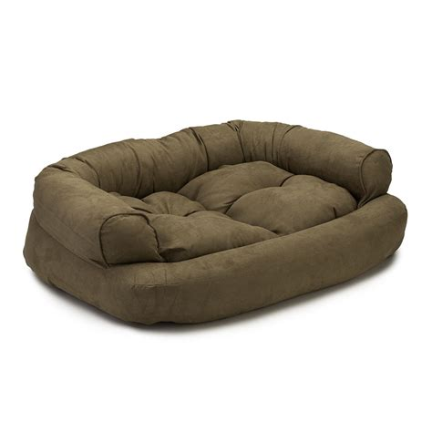 snoozer luxury overstuffed sofa snoozer overstuffed luxury dog sofa microsuede fabric