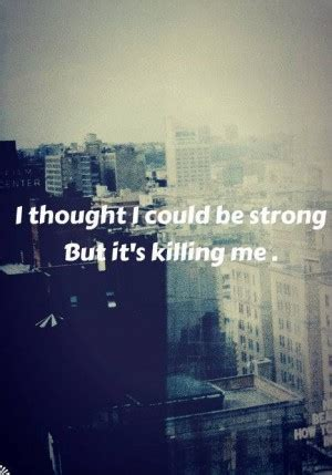 Bruce Wont Stop Lovin Demi by Cutting Quotes Stay Strong Quotesgram