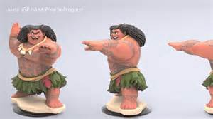 Disney Infinity Figures Closer Look At The Cancelled Quot Moana Quot Figures For Disney