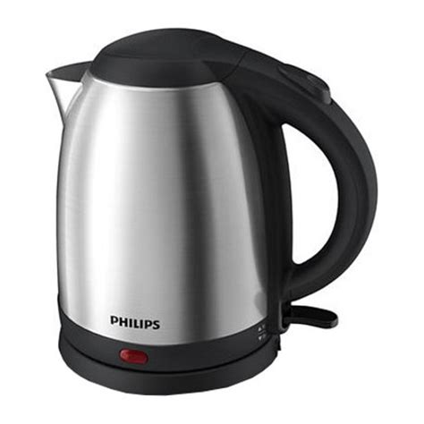 Philips Kettle Listrik Stainless 1 5 Liter Termos Masak Air Hd9306 philips electric kettle 1 5 litre hd 9306 kitchenwarehub