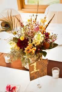 fall flowers centerpieces memorable wedding autumn wedding decoration the top 8