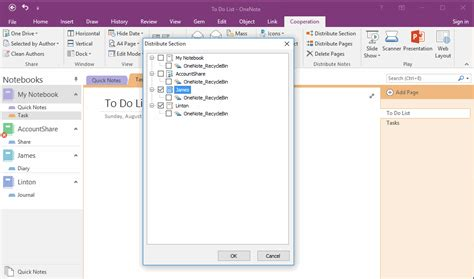 onenote new section group how to distribute or clone section to notebooks or section