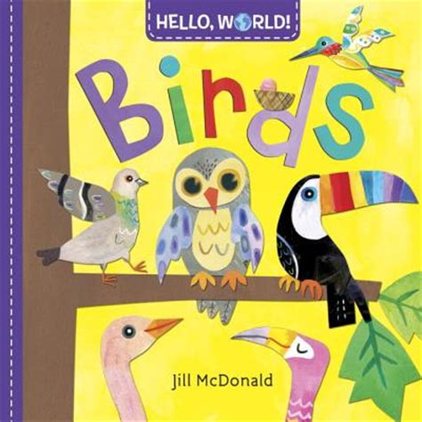 hello world books hello world birds board books books on the square