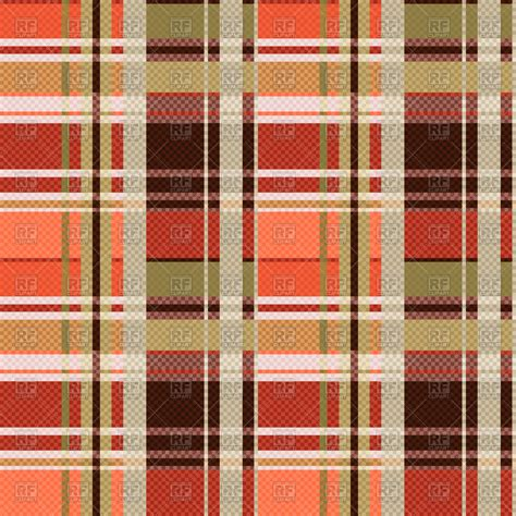 plaid design seamless brown tartan plaid pattern vector image 67781