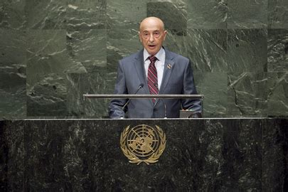 head of the house of representatives united nations photo head of libyan house of representatives addresses general assembly