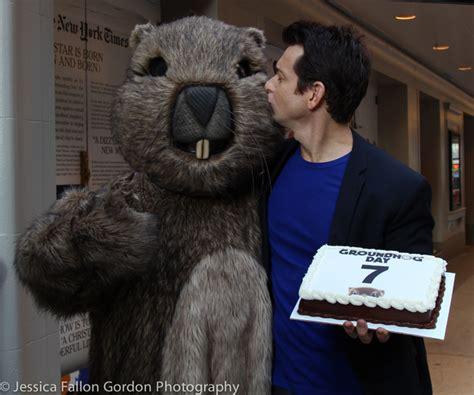 groundhog day cast photo coverage groundhog day cast celebrates tony nominations