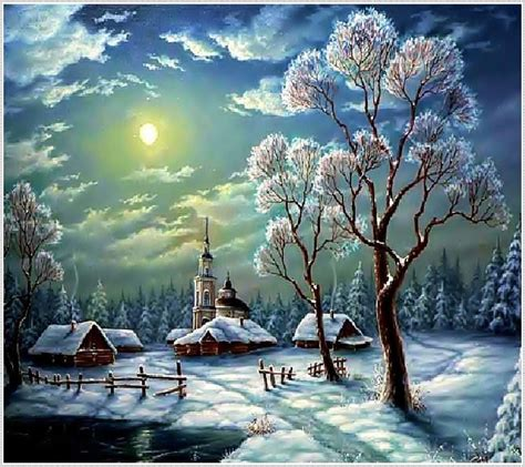 Buku Kristikcross Stitch Orchid No 6 aliexpress buy winter scenery laid painting embroidery snowy