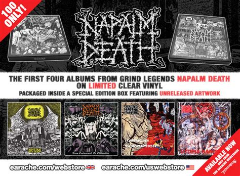 Cd Napalm From Enslavement To Obliteration Import napalm scum from enslavement to obliteration