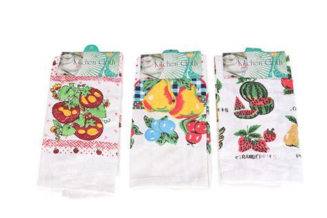 Kitchen Towels Bulk by Bulk Lot X 12 Print Pattern 100 Cotton Kitchen Tea Towel