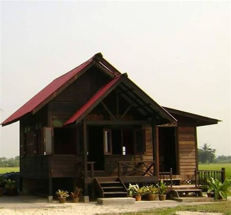 rekabentuk esklusif rumah rumah kampung  tampak