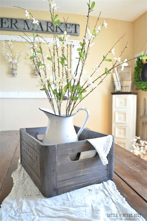 farm table centerpiece ideas charming farmhouse kitchen diys