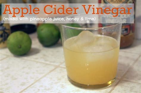 The Confidential Detox Drink by 33 Ways To Drink Apple Cider Vinegar Tonics Teas
