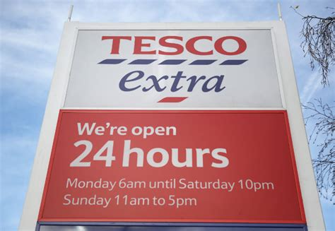 tesco opening calls for tesco to ban shoppers in pyjamas after