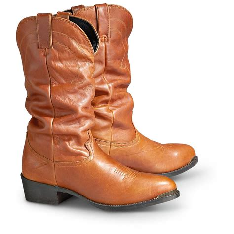 s road wolf slouch boots rust 173831 cowboy