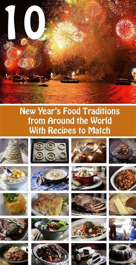 10 new year s food traditions from around the world