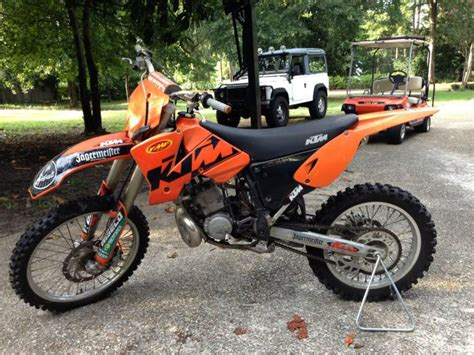 Ktm 200 2 Stroke Buy 2003 Ktm 200 Mxc 2 Stroke On 2040motos