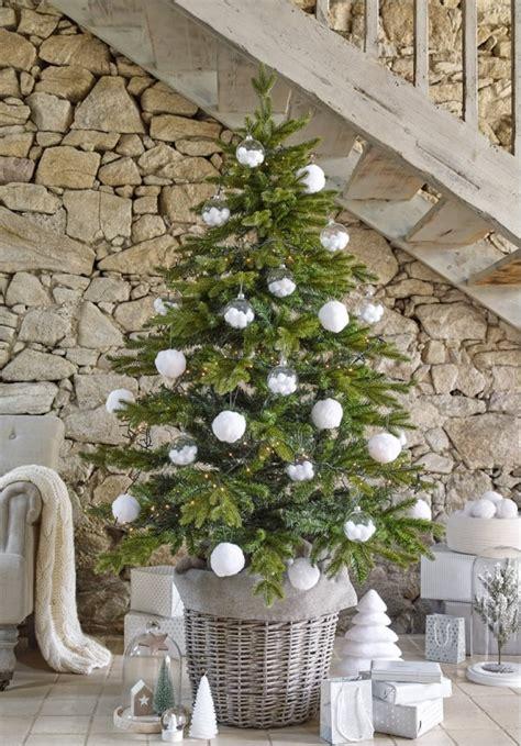 image de no235l decoration sapin de noel et blanc survl
