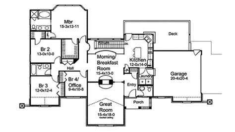 atrium ranch floor plans compton park atrium ranch home plan 007d 0185 house