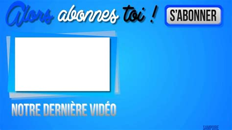end card template dimensions test d outro vierge
