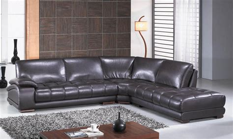 sofa mart boise richmond modern espresso leather sectional sofa set 3922