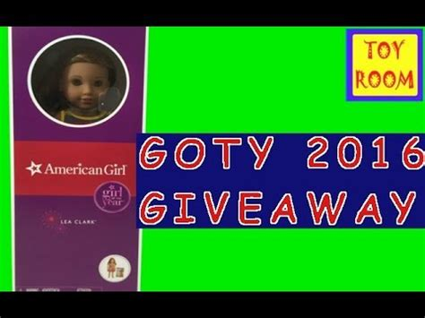 2016 goty lea clark doll giveaway american girl ideas 2016 goty lea clark giveaway youtube