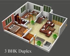 3bkh House Design Plan For 3 Bhk Duplex House House Of Samples