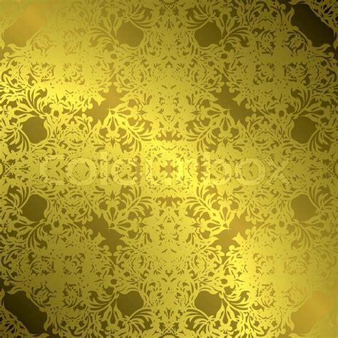 fliese floral floral gotischen illustrierte goldene fliese mit einer