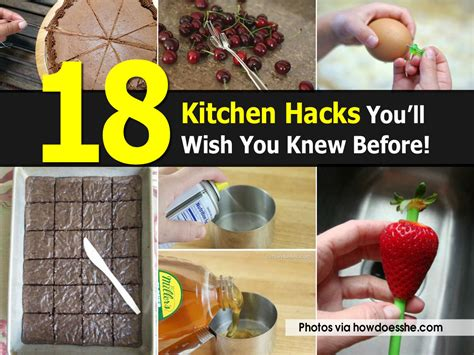 22 Kitchen Hacks You Need To 18 Kitchen Hacks You Ll Wish You Knew Before