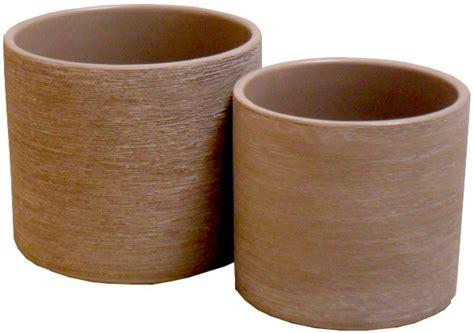 vasi ceramica vasi ceramica smaltati rotondi e ovali per fioristi