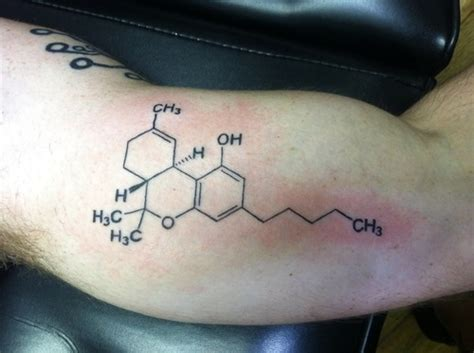 thc molecule tattoo how to find out if you re clinically depressed vaping e
