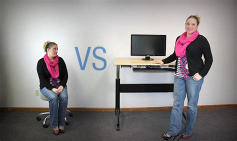 standing vs sitting desk standing at your desk vs sitting standing desks 171 dale