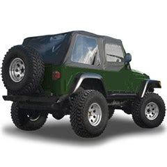 Soft Top For 95 Jeep Wrangler All Things Jeep Black Frameless Soft Top Kit