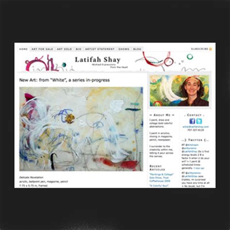 drawing web site artist websites a beautiful exle by latifah shay