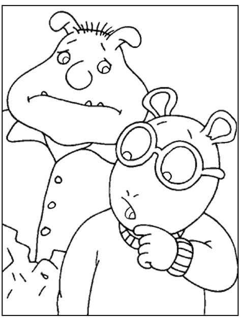 cartoon coloring pages coloring pages to print arthur cartoon characters az coloring pages